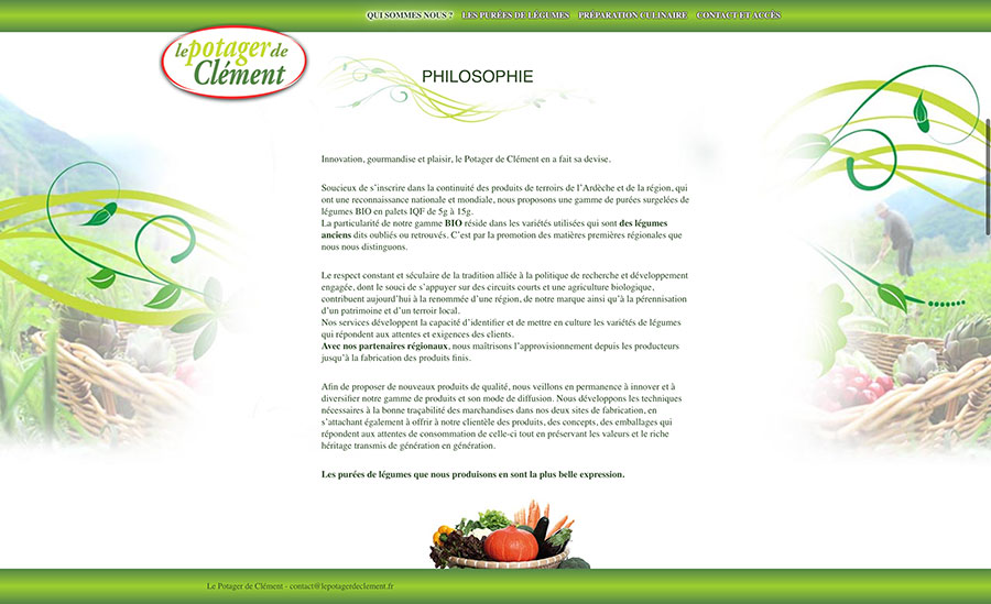 Le potager de Clément