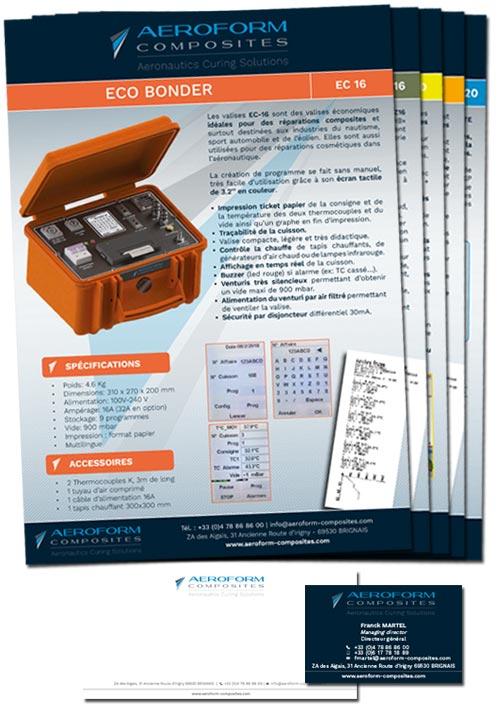 fiche produit & papeterie-aeroform-composites