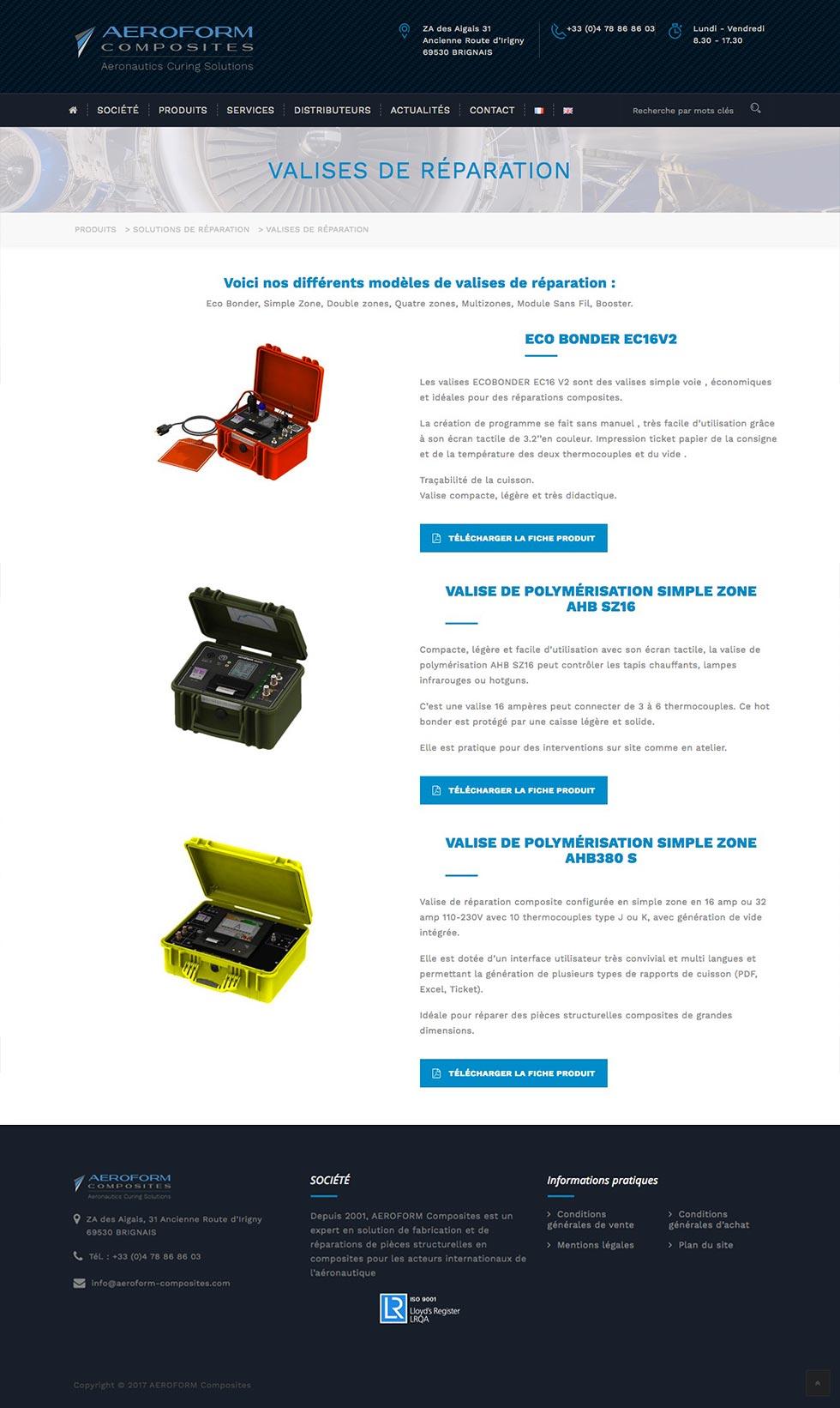 site-aeroform-composites-produits
